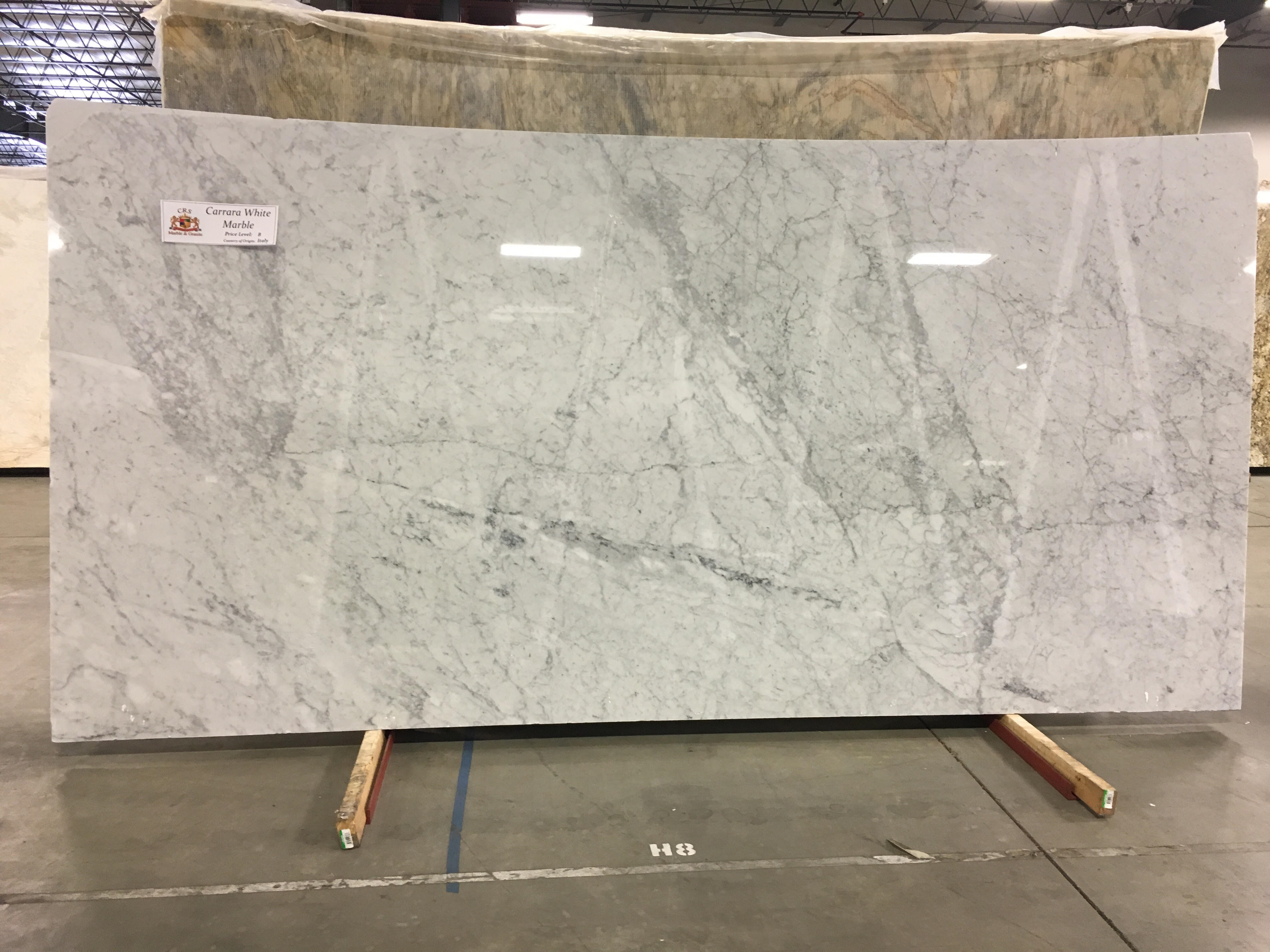 Carrara White Granite : Stonemark granite carrara white marble roselawnlutheran